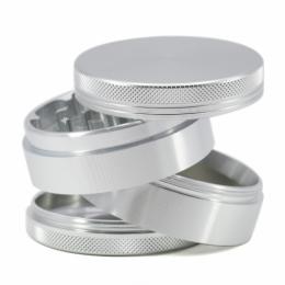 Grinder Aluminio Plateado